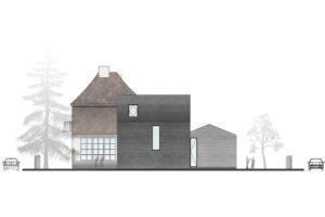 Moderní přístavba rodinného domu