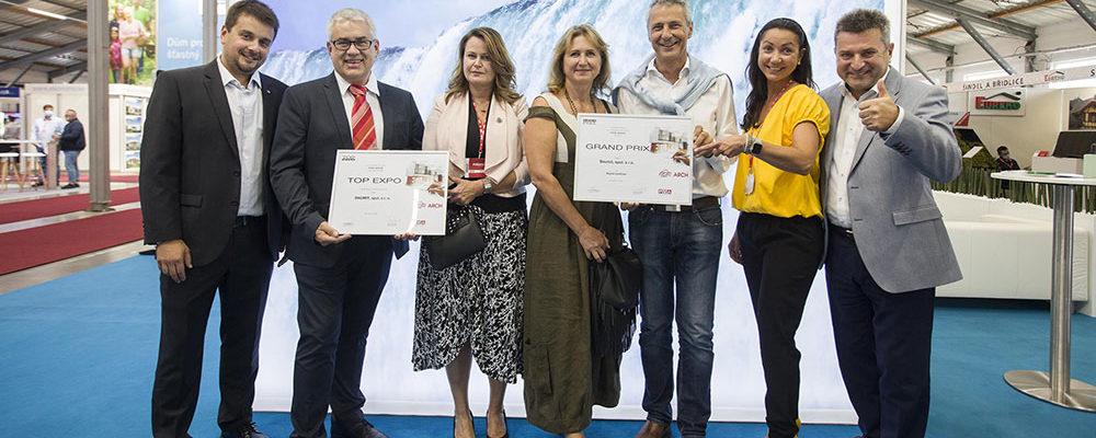 Výrobek Baumit IonitColor získal hlavní cenu GRAND PRIX na veletrhu FOR ARCH