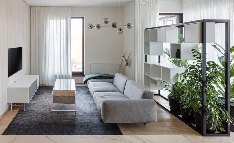 Pražský byt, který vyžadoval specifický přístup: Každá z místností má vlastní emoce