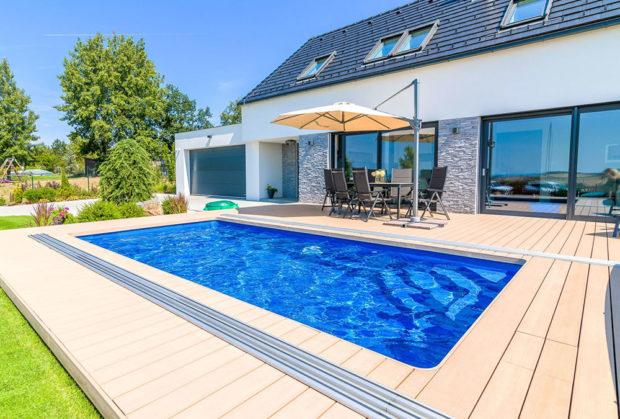 Keramický bazén řady Compact