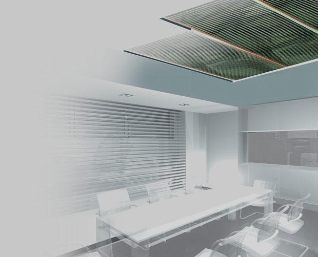 stropní vytápění