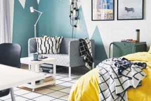 Co se dá v interiéru pomocí barvy skrýt, zdůraznit či rozdělit