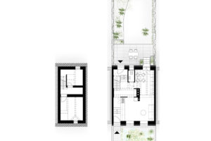 Rekonstrukce dvoupodlažního domu v Bratislave