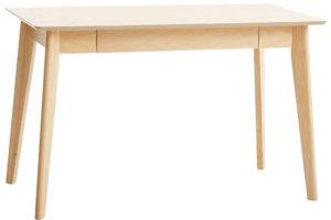 Psací stůl Kalby, světlý dub, 60 × 120 cm, 4 000 Kč, jysk.cz