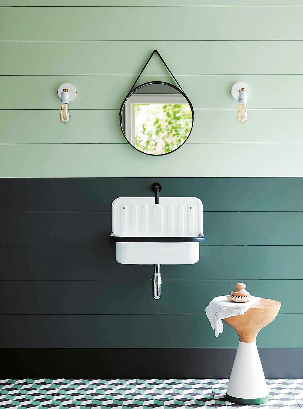 koupelna zelená