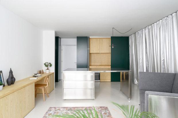 Přizpůsobivý byt pro tři