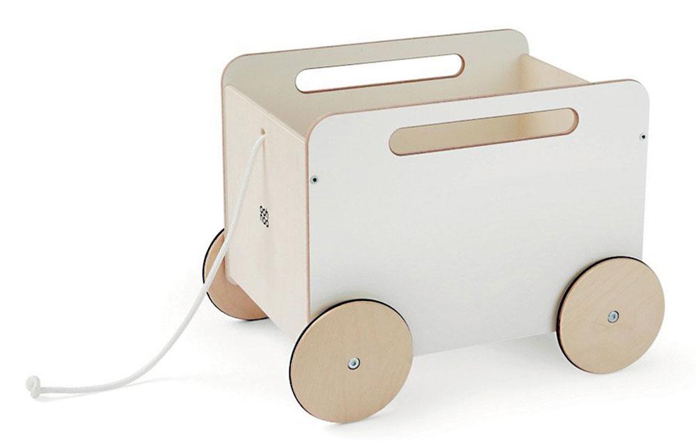 Dřevěný vozík na hračky, OOH NOO, 3 045Kč, arki.cz
