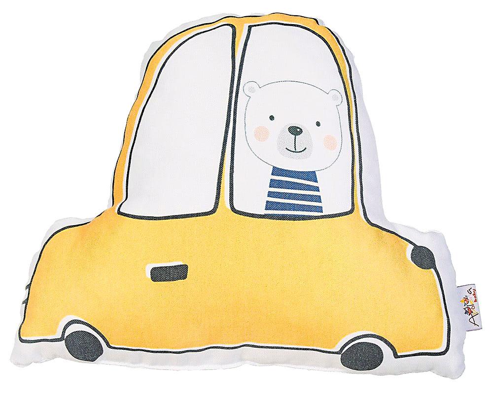 Polštář Apolena Pillow Toy Car, 25 × 30 cm, 189 Kč, bonami.cz