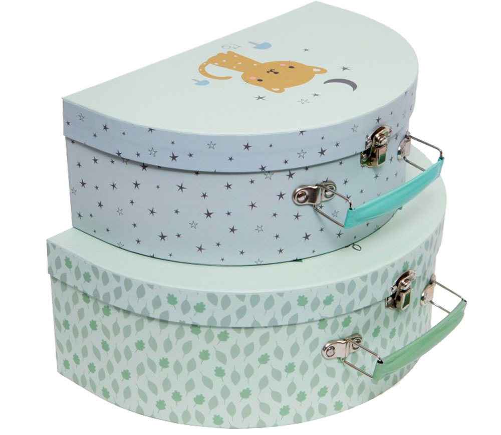 Dětský kufřík Leopard, Petit Monkey, 299 kč, bellarose.cz