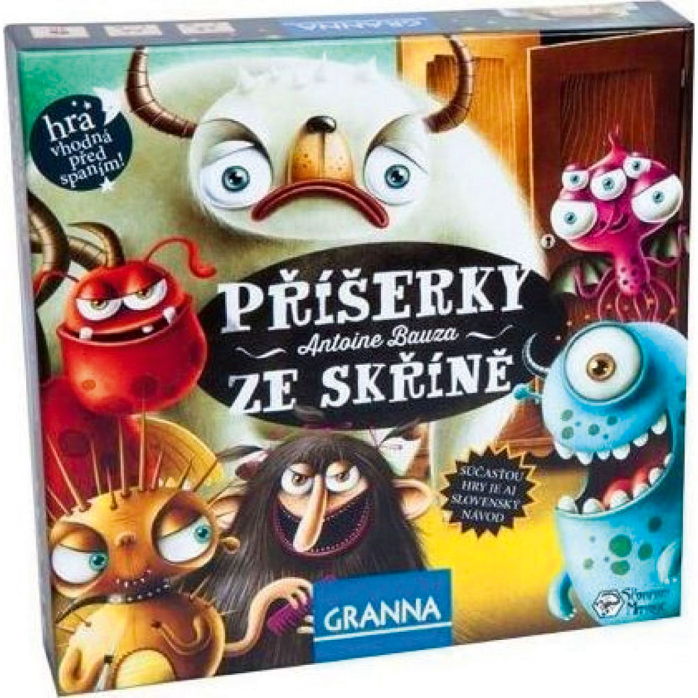 Hra před spaním Příšerky ze skříně, od 3 let, 299 Kč, svether.cz