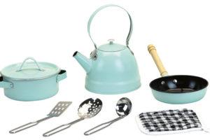 Souprava kovového nádobí