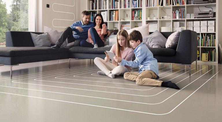 Proč teplovodní podlahové vytápění REHAU? 7krát proto!