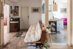 Úsporná rekonstrukce bytu na starém sídlišti
