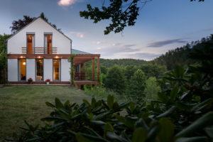 Dřevostavba ve středních Čechách postavena s důrazem na úsporu energie