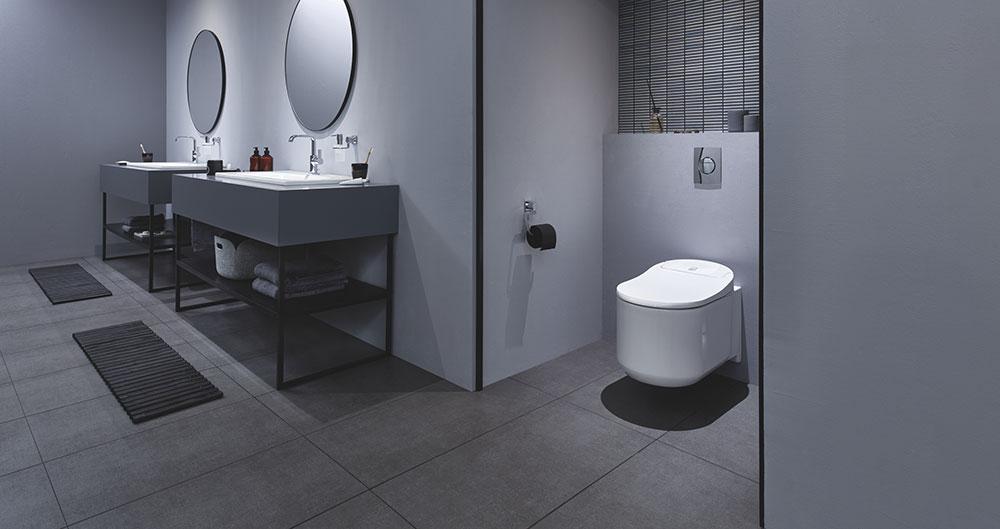 sprchová toaleta