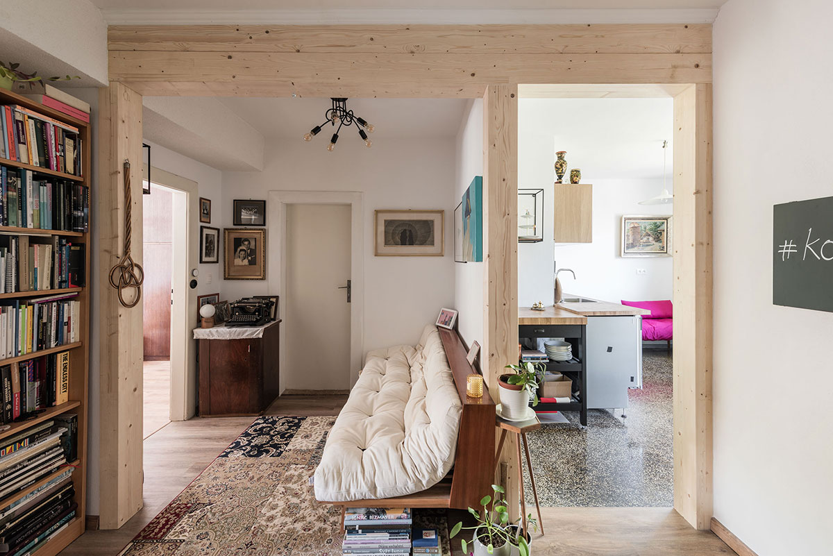 Rekonstrukce interiéru na sídlišti 500 bytů