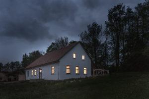 Rekonstrukce venkovské stavby v Borové u Poličky