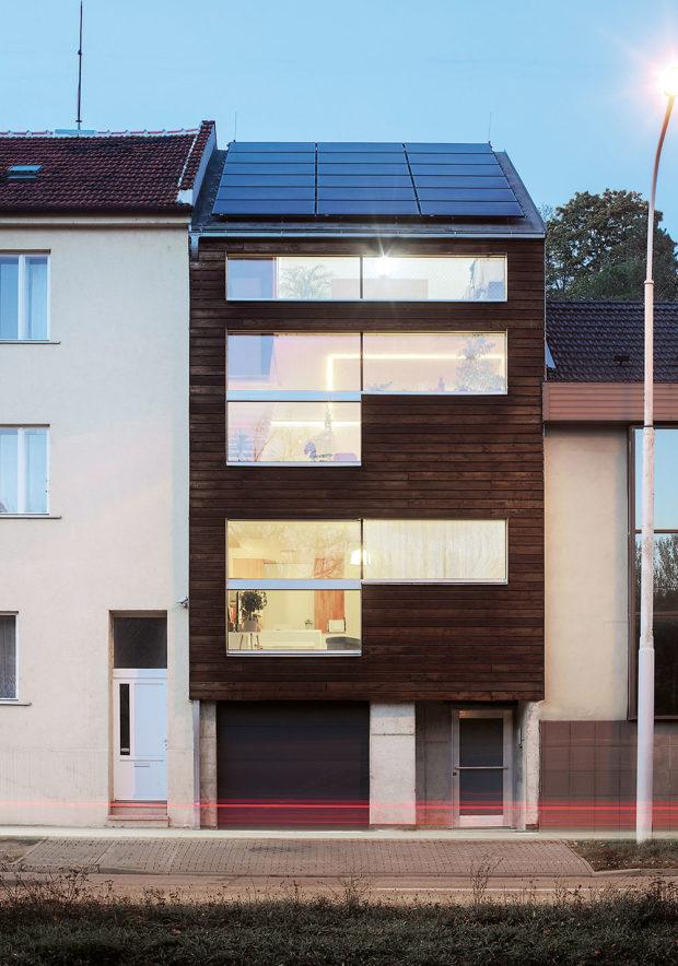 první energeticky plusový dům v Čechách