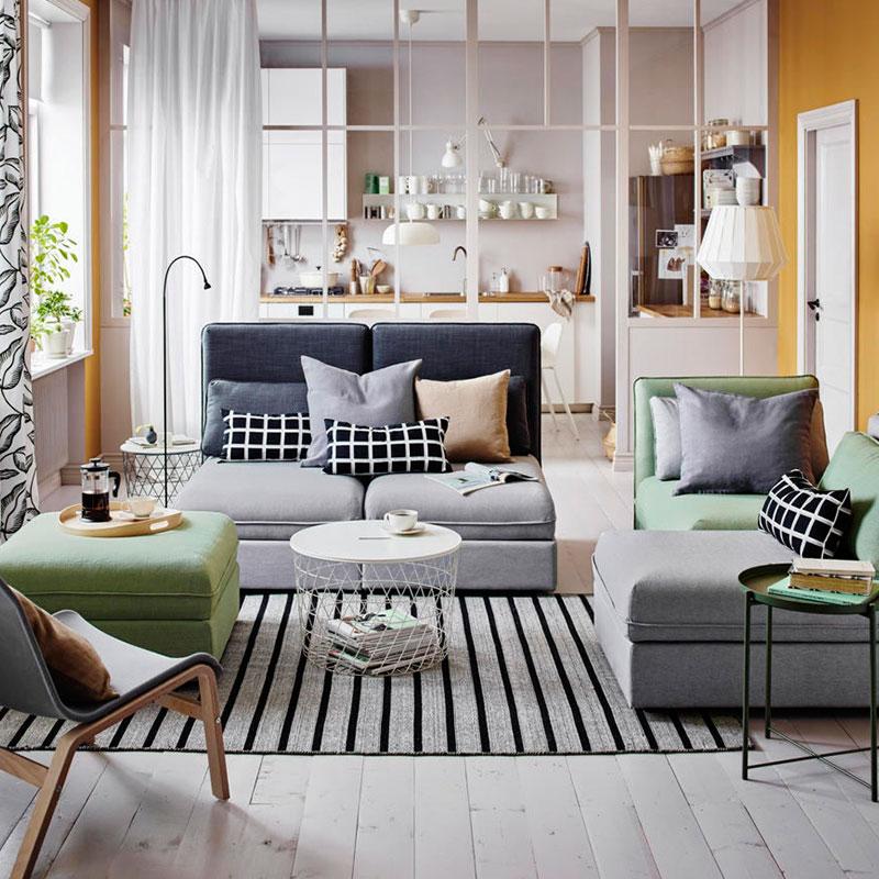 obývací pokoj IKEA
