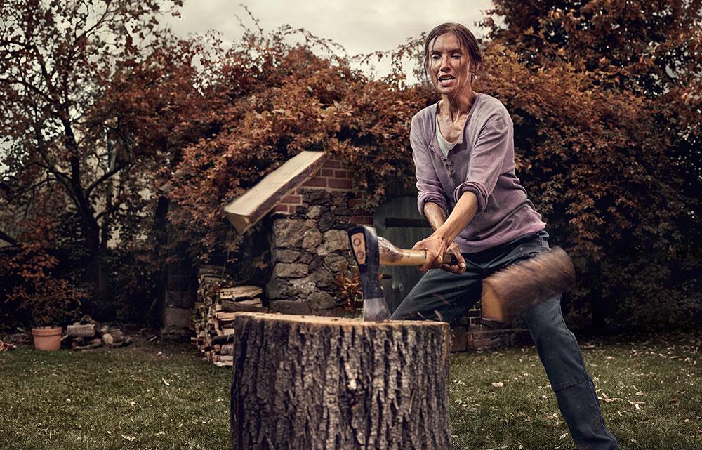 sekáni dreva