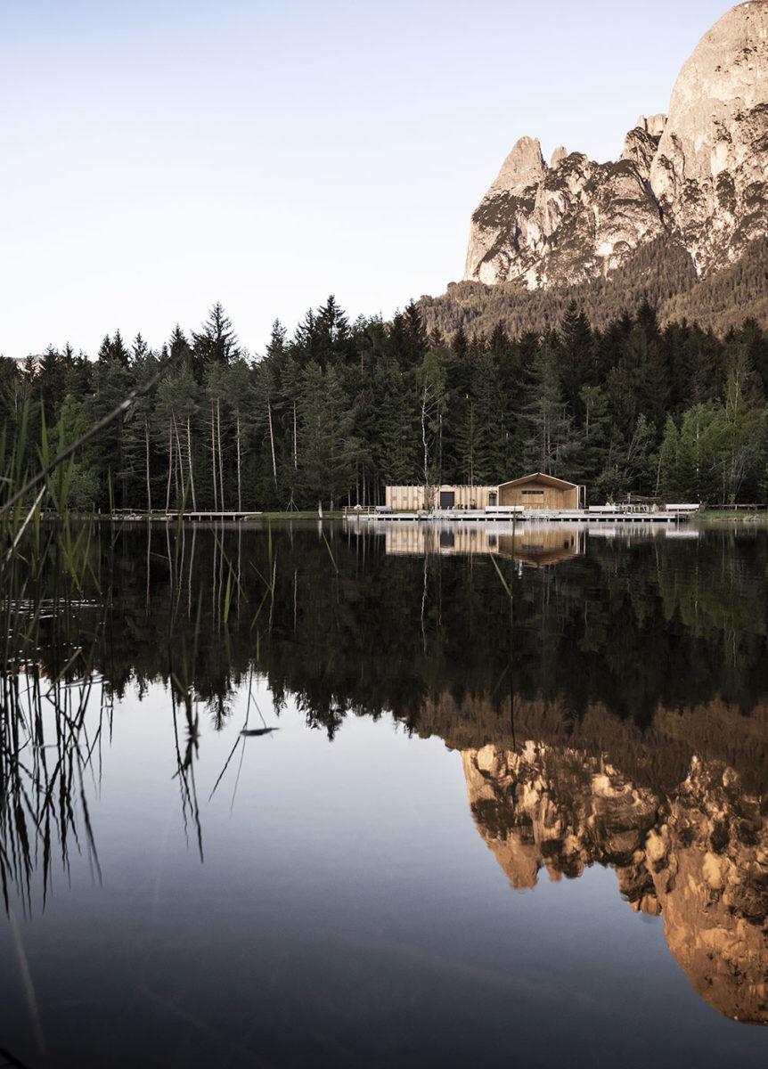 Rekreační chata u jezera Völs