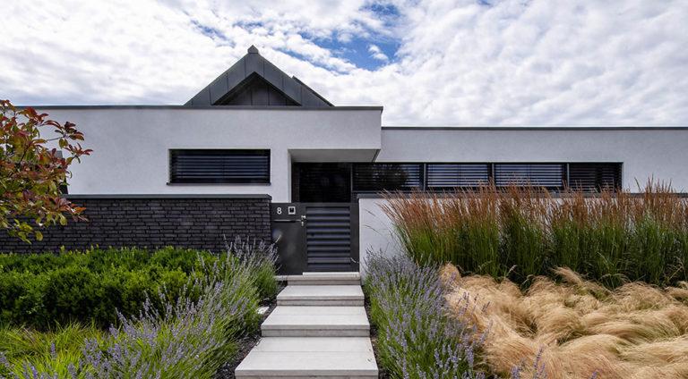 Nízkoenergetická venkovská vila s maximálním komfortem bydlení a s minimální údržbou