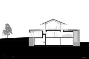 pudorysy domu s panoramatickými výhledy