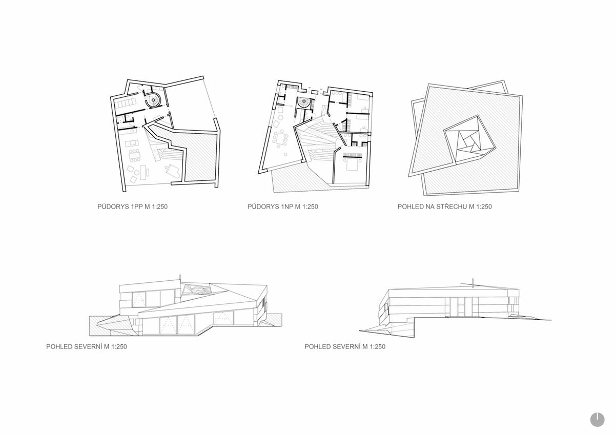 Villa Sophia plán