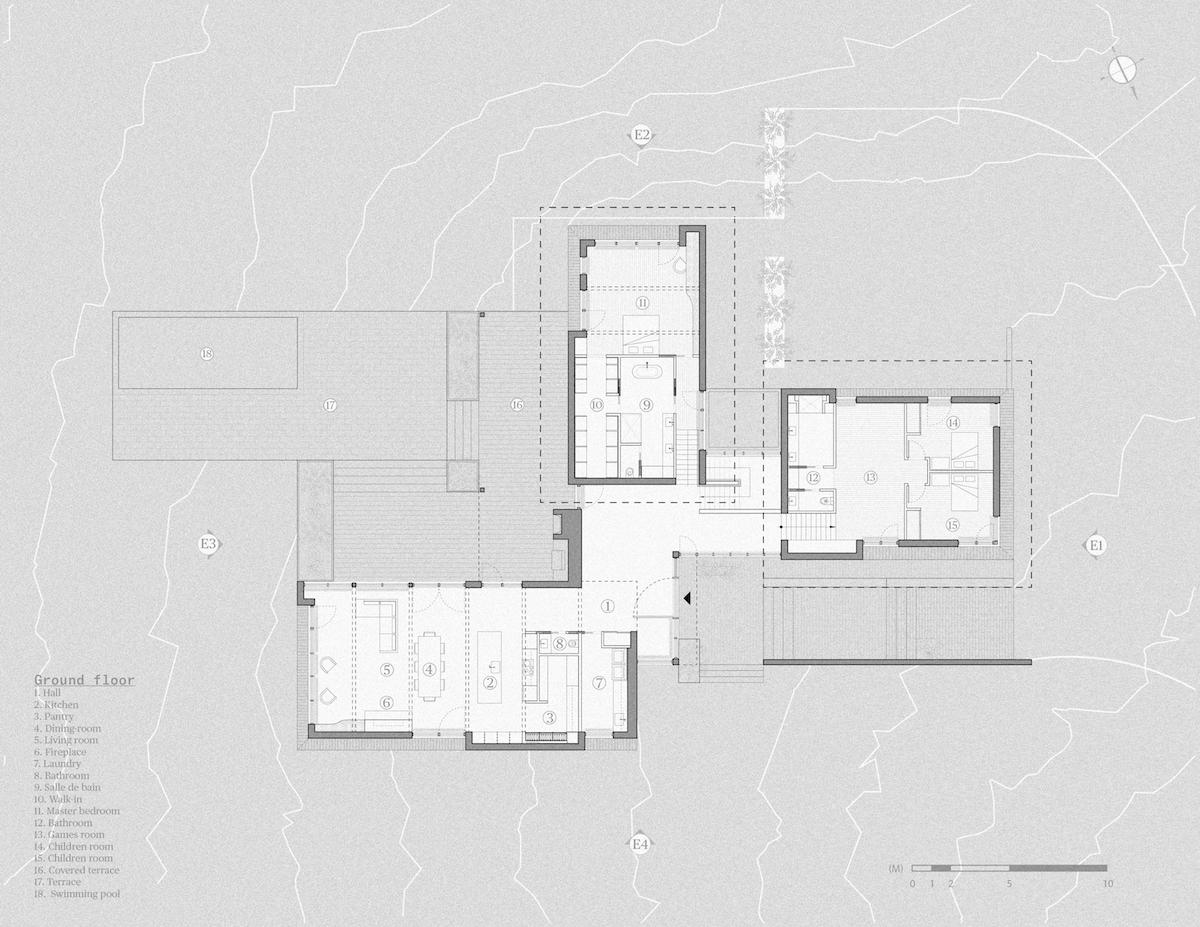 Plán Maison Koya