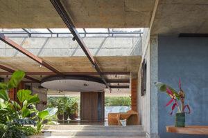 Betonová Art Villa v kostarické džungli