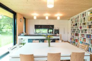 Kuchyň a jídelna