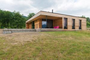 Dům z přírodních materiálů