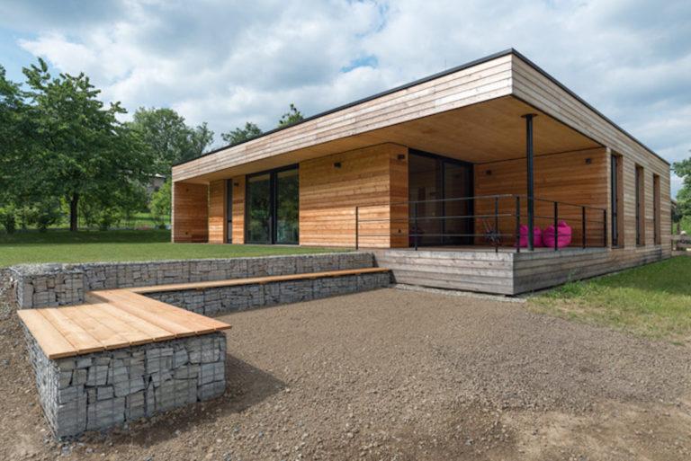 Jak si architekt postavil vlastní nízkoenergetický dům z přírodních materiálů