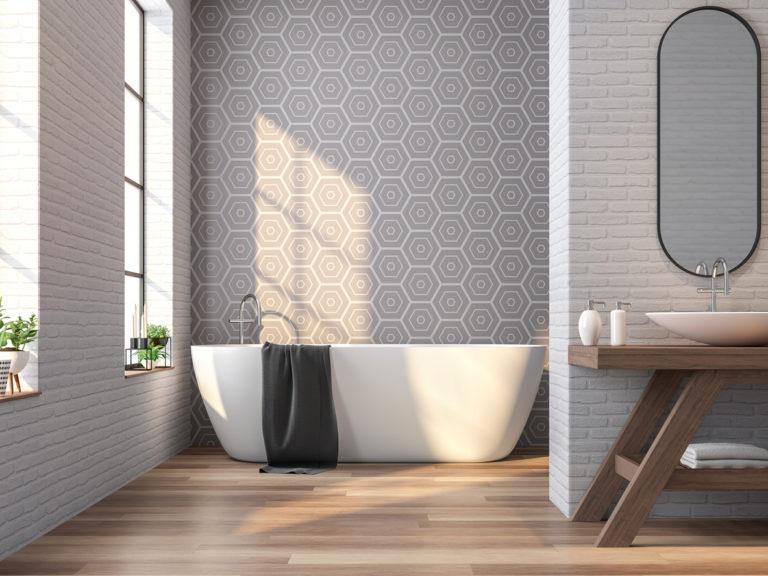 Dají vaší koupelně styl! Přinášíme jednoduché designové triky sobkládačkami