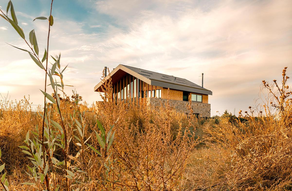 Moderní interpretace typického venkovského domu