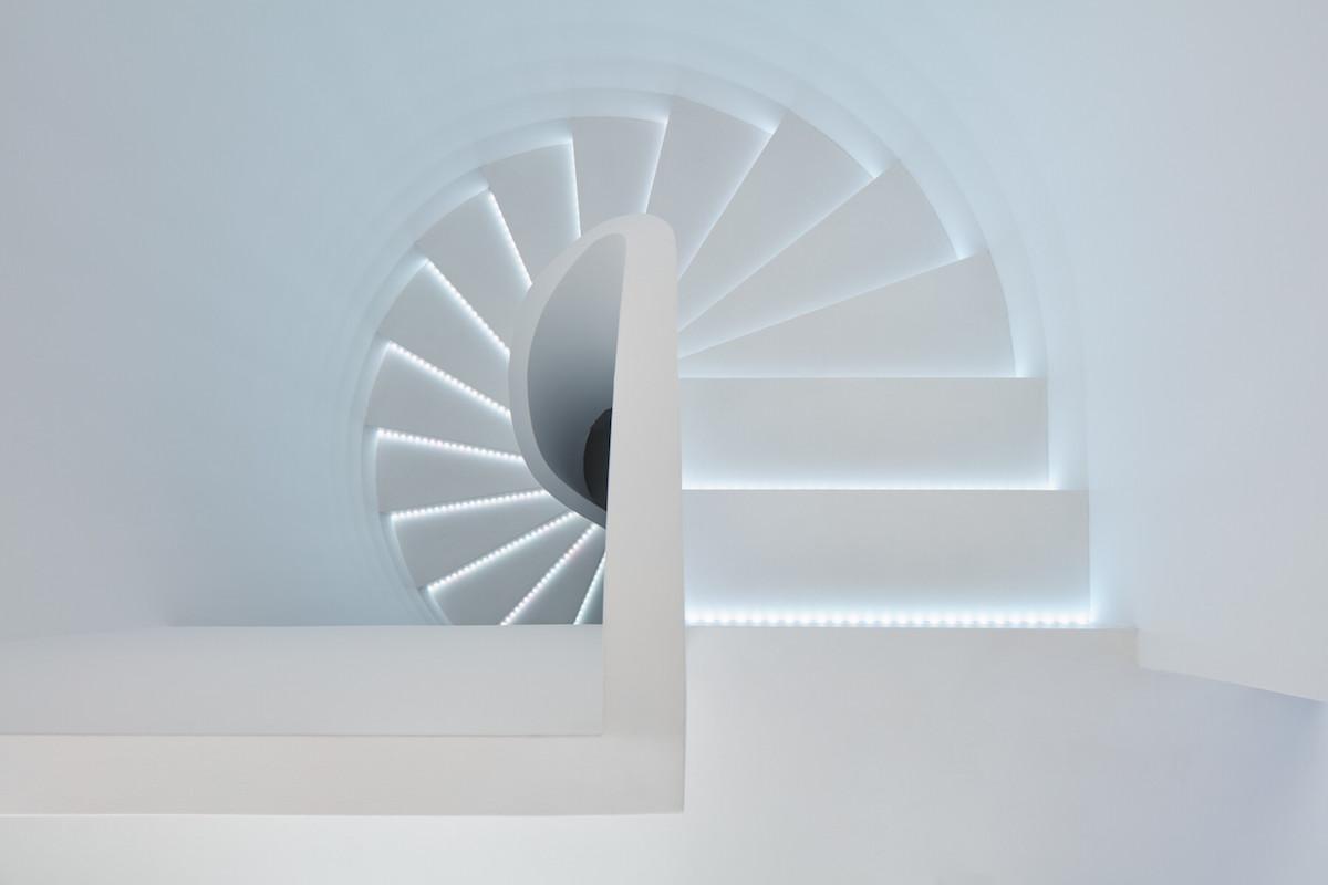 Spirálovité schodište