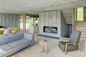 Kombinace překližky a betonu