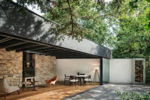 Obývací pokoj jako veranda