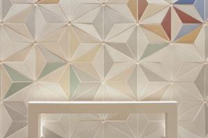 Barevná keramická mozaika