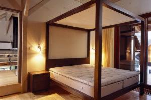 Původní stav ložnice