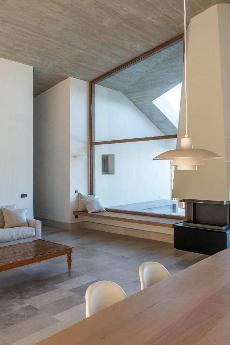 Prosklení moderního domu
