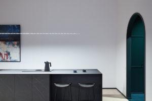 Kuchyň s pracovnou plochou