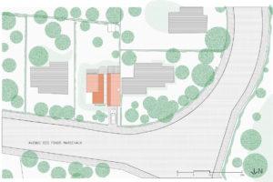 Plán novostavby okolí