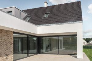 První dům e4 terasa