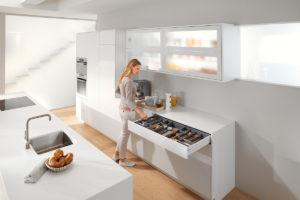Ukázka uspořádání v kuchyni