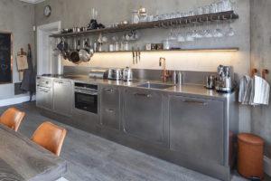 Kuchyň s osvětlením