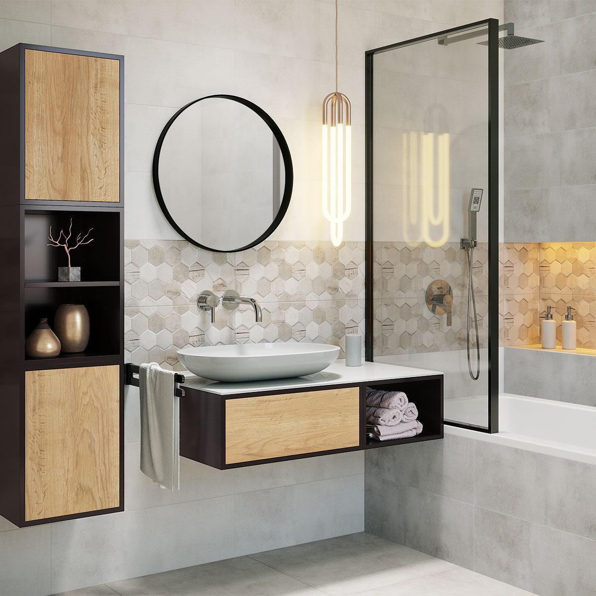 Moderní interiér koupelny