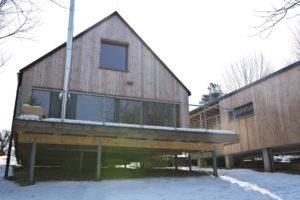 Obytný dům a garáž