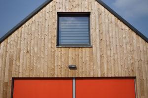Dřevěný obklad fasády