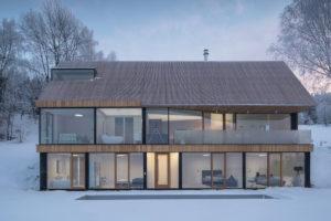 Suterén a prvni nadzemní podlaží domu